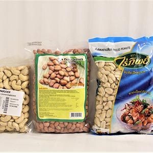 Cashew Nuts and Peanuts